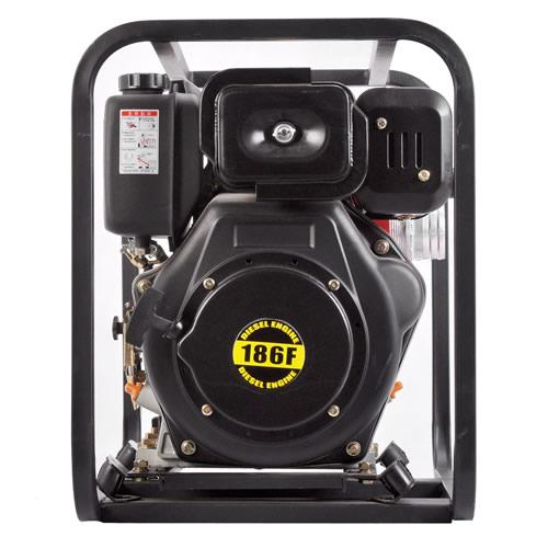 柴油自吸式高压水泵-工程用泵-污水泵2寸高压