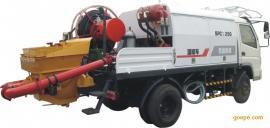 湿喷机 车载式 混凝土湿喷机 双喷头