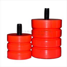 JHQ-A系列弛缓器 螺杆式聚氨酯弛缓器 起重减震垫 安全梯防撞碰头