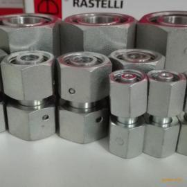 雷斯特利TN498可调式直通接头带O型圈卡套式接头液压管路连接件