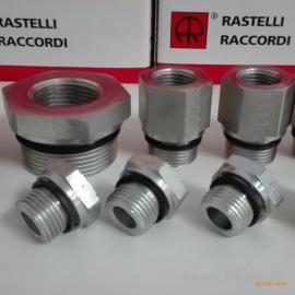 雷斯特利TN141GG变径补芯接头带ED圈卡套式接头液压管路连接件