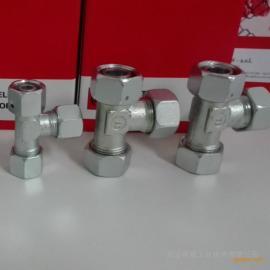 雷斯特利TN421可调式L型管接头带O型圈卡套式接头液压接头