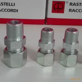 雷斯特利TN93终端直通接头锥螺纹系列卡套式接头液压接头