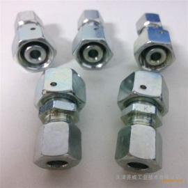 雷斯特利TN432变径直通接头带O型圈卡套式接头液压管路连接件