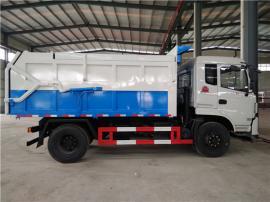 10吨含水污泥运输车价格_污水厂供排水公司专用车报价