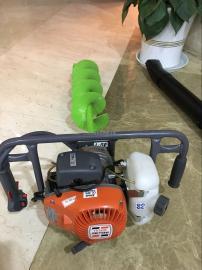 原装欧玛MTL51地钻、树木种植机、二冲程汽油机挖坑机、打孔机