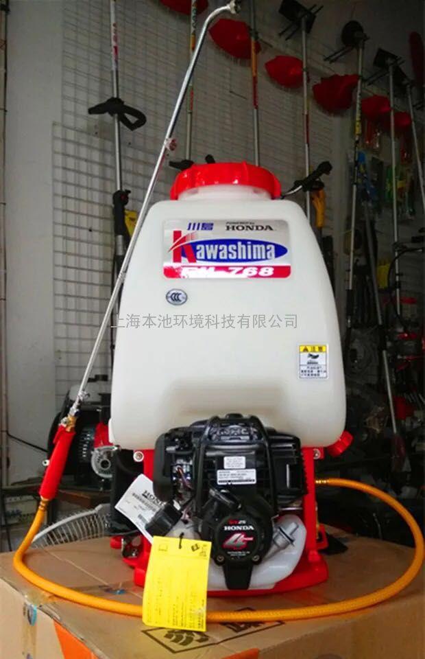 日本川岛F-768喷雾器进口背负式机动打药机卫生防疫室外喷雾机