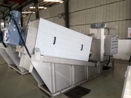 大规模高效叠螺污泥脱水机装配