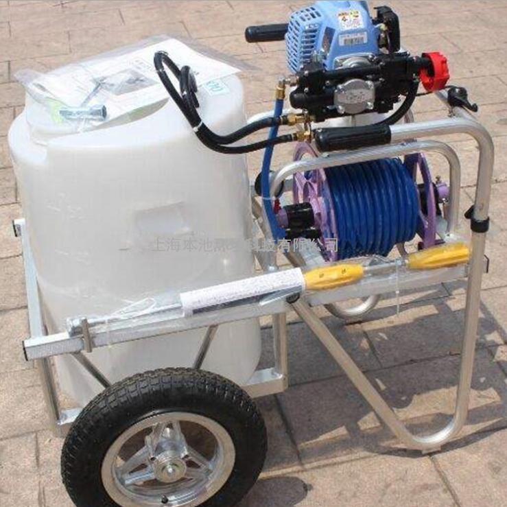 日本丸山轮式动力喷雾器GS51 EMR-50L 轮式动力打药机