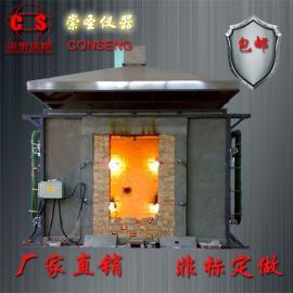 门卷帘耐火试验机 门卷帘耐火试验炉 钢质防火门卷帘门