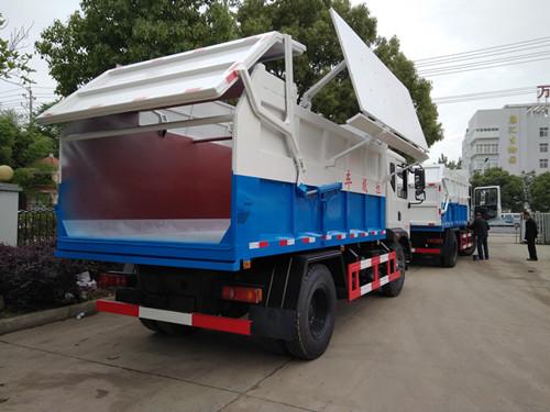 滴水不漏运输含水污泥车、10吨15吨污泥运输车价格配置