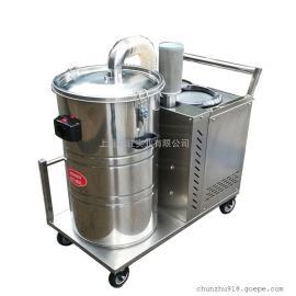 强力工业吸尘器打磨配套用吸颗粒焊渣吸尘器380V吸尘器厂家
