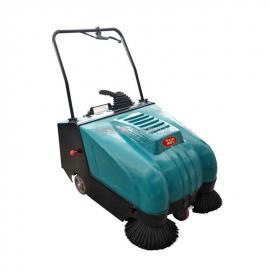 钢铁行业车间地面清扫专用威德尔手推式电动扫地机