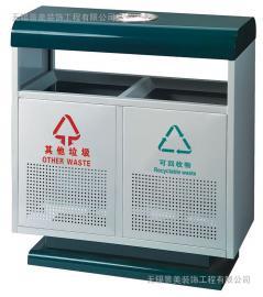 惠山镀锌板分类果皮箱厂家-惠山镀锌板户外果皮箱生产商