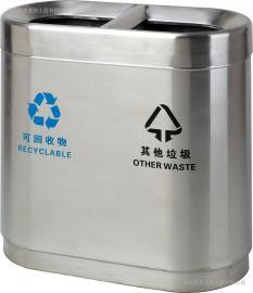 苏州不锈钢果壳箱-不锈钢分类垃圾箱-不锈钢户外垃圾桶
