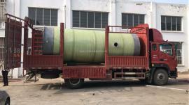 齐 齐哈尔污水提升泵站厂家 预制泵站玻璃钢井筒污水处理设备