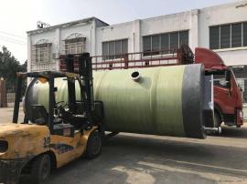 鸡 西污水提升泵站厂家 预制泵站玻璃钢井筒污水处理设备