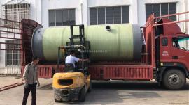 污水提升泵站造价 润平玻璃钢化粪池 一体化预制泵站