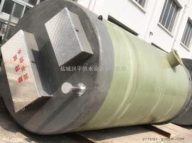 洮南污水提升泵站厂家 GRP一体化泵站 污水/雨水提升泵站