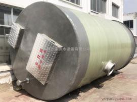 牡 丹江污水提升泵站厂家 预制泵站玻璃钢井筒污水处理设备