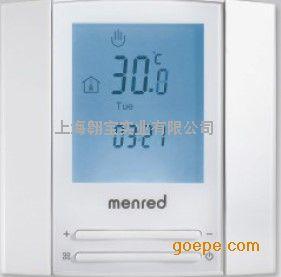 曼瑞德 电地暖温控器壁挂炉控温器水地暖电缆液晶温控器