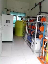 次氯酸钠发生器安装图/饮水消毒加药加氯机
