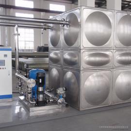 消防增压稳压供水设备(智能箱泵一体化)