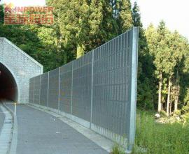 公路隔音隔音墙立柱和基础的连接方法是什么?
