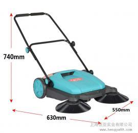 扫地机刷子 无动力清扫车树叶灰尘石子手推式小型车