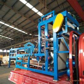 厂家直销 带式压滤机 印染污泥脱水机 操作简单
