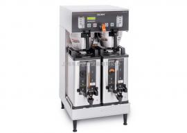 美国BUNN双头液晶智能冲泡咖啡机美式商用蒸馏咖啡机Dual SH DBC