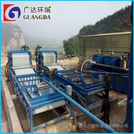 带式压滤机 带式真空过滤机 污泥处理设备 三网带式压滤机