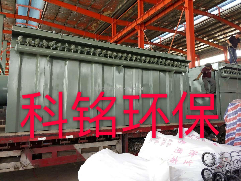 120袋DMC型单机脉冲布袋除尘器安装指导