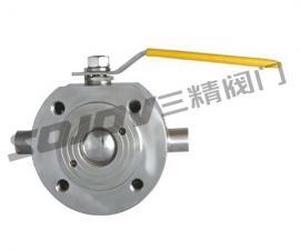 BQ71F对夹式连接保温球阀
