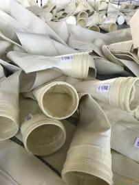 供应卓鑫覆膜涤纶针刺毡除尘布袋透气性好防腐蚀收尘效果好