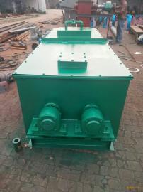供应卓鑫双轴粉尘加湿搅拌机稳定运行具有高效省时的优点