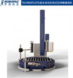台山ROBOPAC全自动上断膜塑料薄膜裹包机