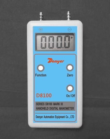 D8100手持式数字差压计