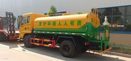 东风10吨运水车-10吨抗旱拉水车-10吨保温运水车配置报价