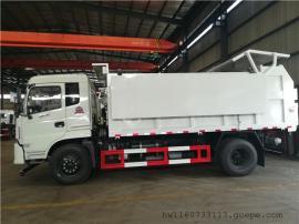 全密封带保温12吨污泥运输车价格-12立方含水污泥运输车生产厂家