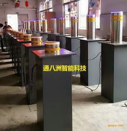通八洲单位大门口专用液压升降柱