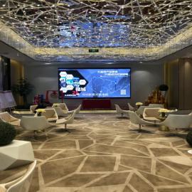 售楼部室内P2.5led显示屏全彩视频播放高清显示屏上门安装调试