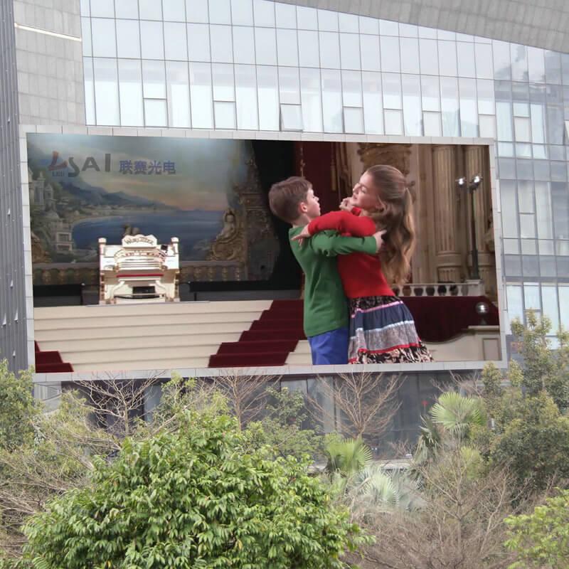 政府广场led显示屏视频播放P6像素27777点50平方比较合理