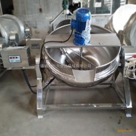 大小型炼蜜熬糖秋梨膏熬制锅 火锅炒料机器 全自动 商用 搅拌