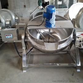 做凉粉的机器 商用 全自动搅拌机 火锅底料炒料机 秋梨膏熬制锅