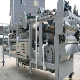 带式污泥压滤机的脱水方式