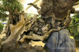 长颈鹿雕塑,景观浮雕