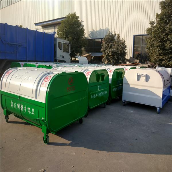 3方垃圾箱 3方椭圆形垃圾箱 3方勾臂垃圾箱3方梯形垃圾箱