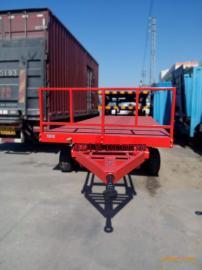 玻璃厂专用重型28吨平板拖车