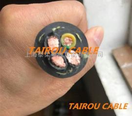 抗拖拽抗扭曲卷筒电缆